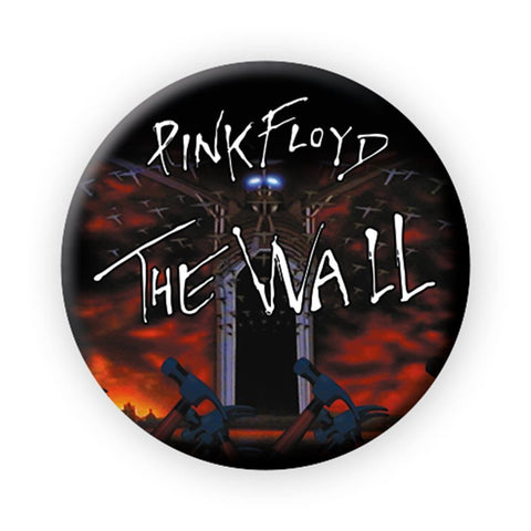 Pink Floyd The Wall March Button