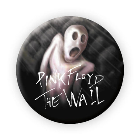 Pink Floyd The Wall Scared Button