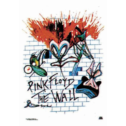 Pink Floyd The Wall The Wall Fabric Poster
