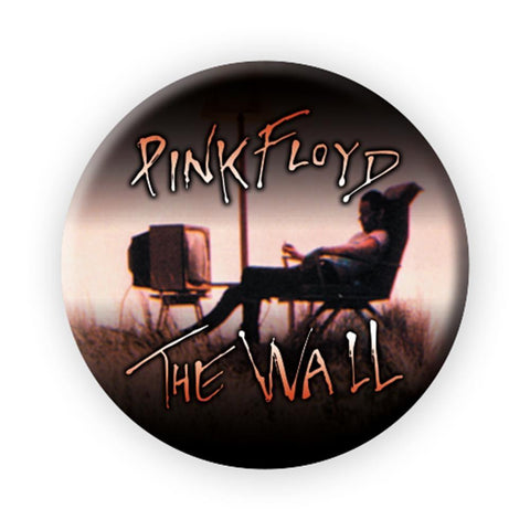 Pink Floyd The Wall TV Button