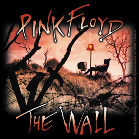 Pink Floyd The Wall TV Sticker