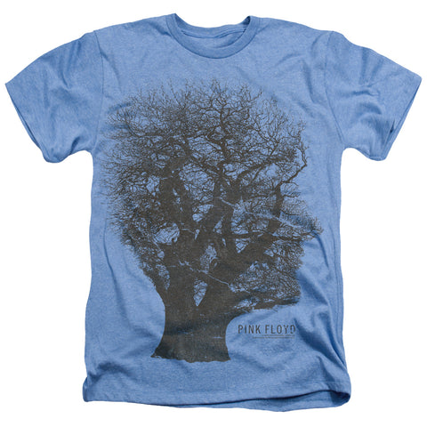 Pink Floyd Special Order Tree Of Life Men's 30/1 60% Cotton 40% Poly Short-Sleeve Heather T-Shirt