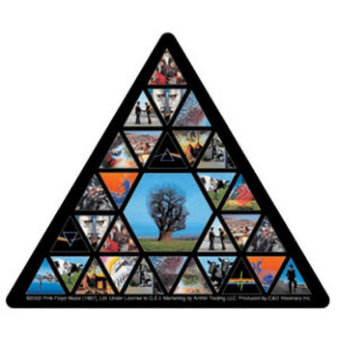 Pink Floyd Triangle Sticker