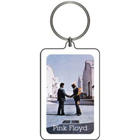 Pink Floyd Wish You Were Here Lucite Keychain