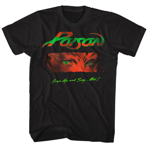 Poison Special Order Open Up And Say Ahh Adult S/S T-Shirt