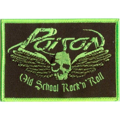 Poison Old School Patch