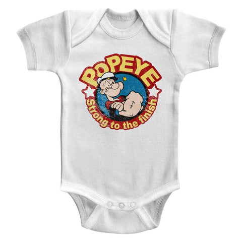 Popeye Special Order Strong Infant S/S Bodysuit