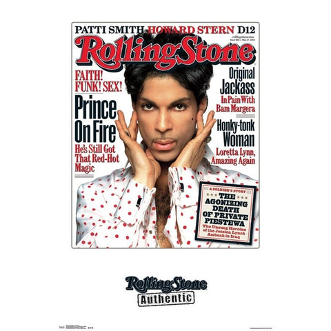 Prince Rolling Stone Cover Poster