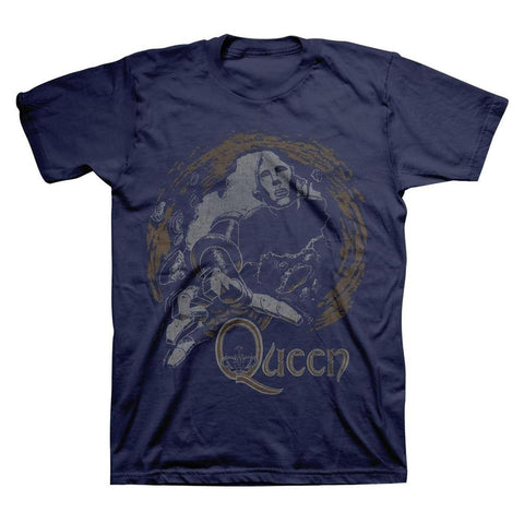 Queen News of the World Vintage Men's T-Shirt