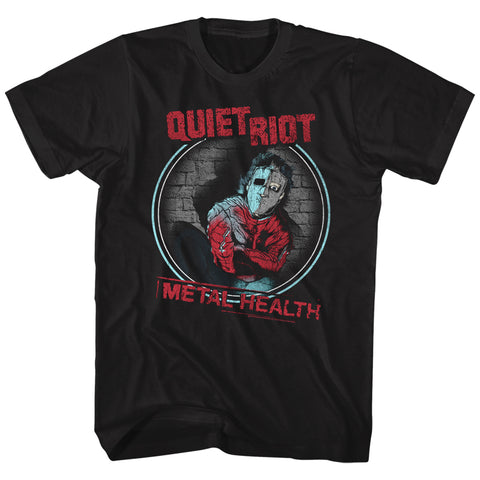 Quiet Riot Special Order Metal Health Adult S/S T-Shirt