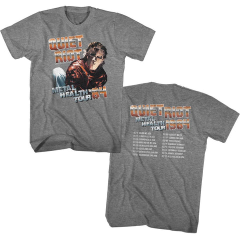 Quiet Riot Special Order Metal Health Tour Adult S/S T-Shirt