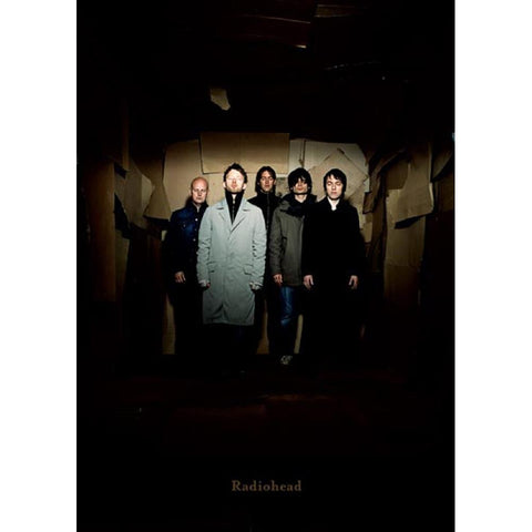 Radiohead Group Poster