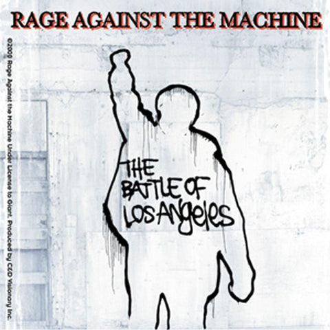 Rage Against The Machine Battle Of L.A. Sticker