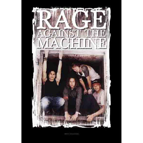 Rage Against The Machine Framed Group Pic Fabric Poster