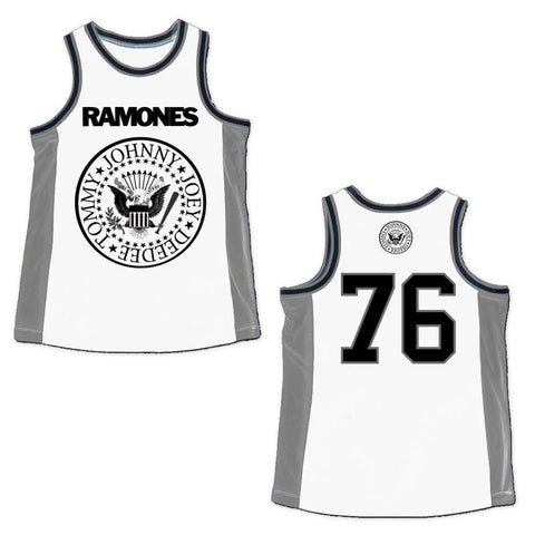 Ramones Ramones Men's Basketball Jersey