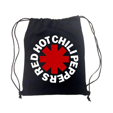 Red Hot Chili Peppers Asterisk Drawstring Bag