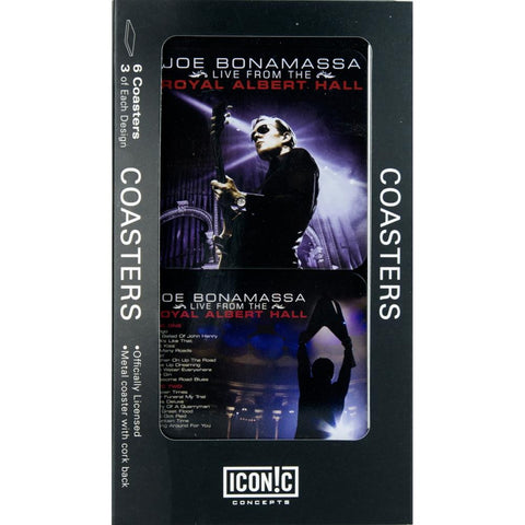 Joe Bonamassa Royal Albert Hall Drink Coaster Set (6 Coasters)