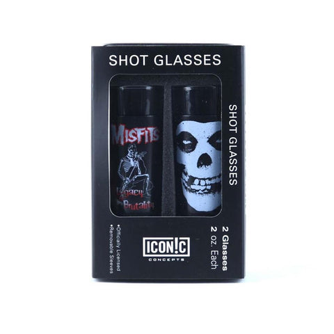 Misfits Shot Glasses Set (2 Pack)
