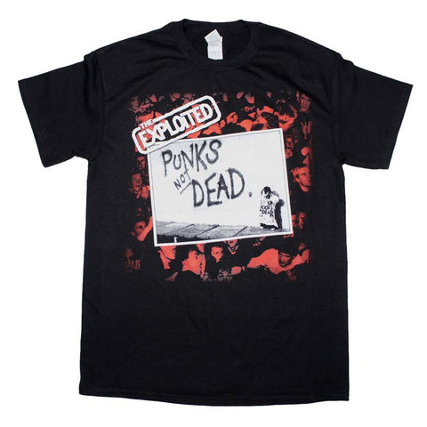 The Exploited Punk's Not Dead T-Shirt