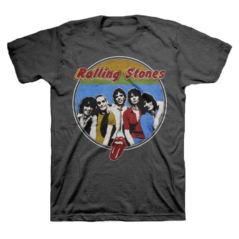 Rolling Stones 78 Band Respectable Bootleg Men's T-Shirt