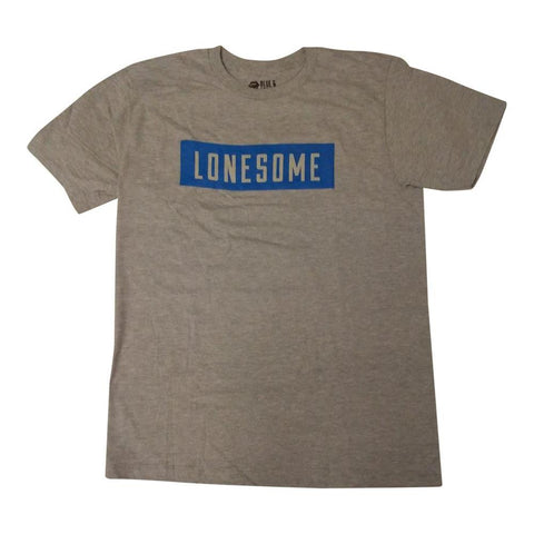 Rolling Stones Lonesome Block Text Men's T-Shirt