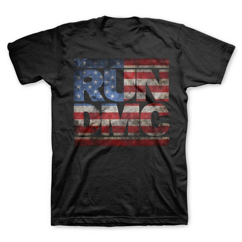 Run DMC Americana Logo Men's T-Shirt