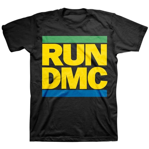 Run DMC Brazil Colors Men's T-Shirt