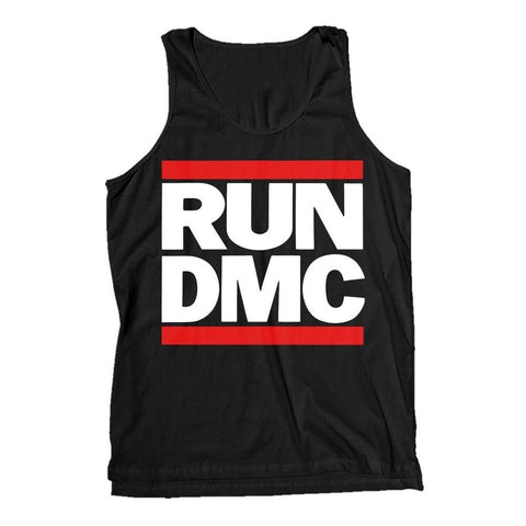 Run DMC Classic Logo Men's Tank T-Shirt