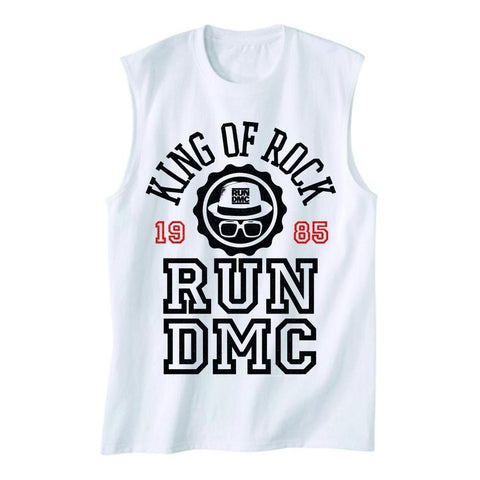 Run DMC King of Rock Varsity Men's Tank T-Shirt