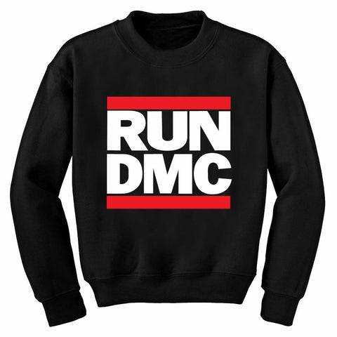 Run DMC Logo Men's Crew Neck Sweatshirt