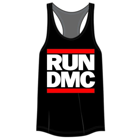 Run DMC Logo Racerback Women's Tank T-Shirt