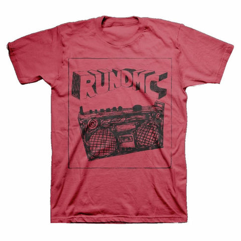 Run DMC Sketch Boombox Men's T-Shirt