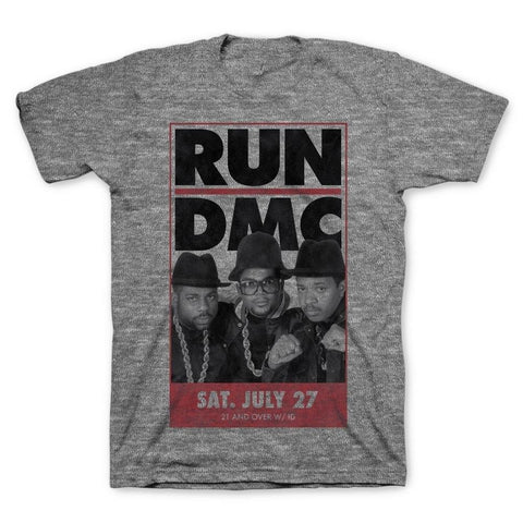 Run DMC Vintage Tour Men's T-Shirt