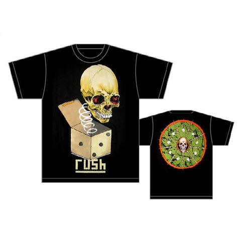 Rush Pushead Jack in the Box Men's T-Shirt