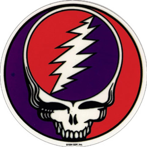 The Grateful Dead Steal Your Face Sticker