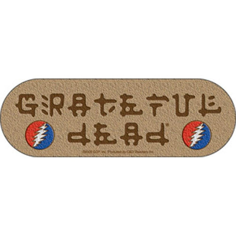 The Grateful Dead Sandstone Logo Sticker