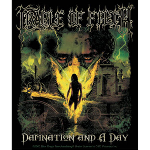Cradle of Filth Damnation Sticker