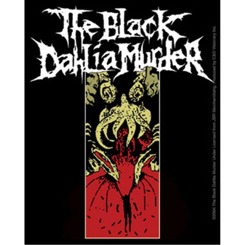 The Black Dahlia Murder Squid Sticker