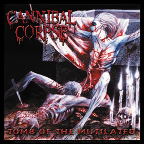 Cannibal Corpse Tomb Of The Mutilated Sticker