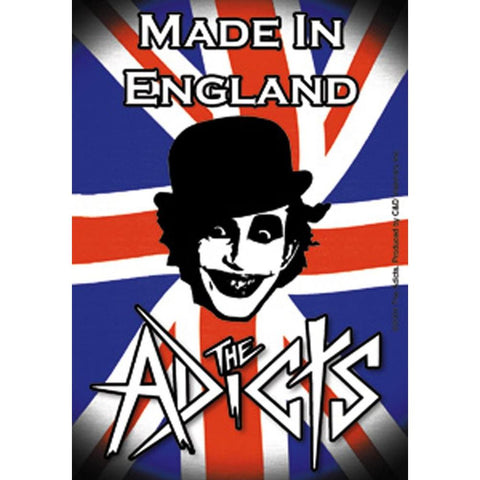 The Adicts Union Jack Sticker