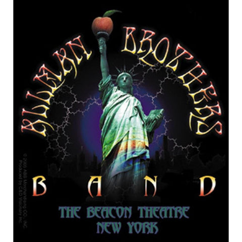Allman Brothers Liberty Lighteningsticker