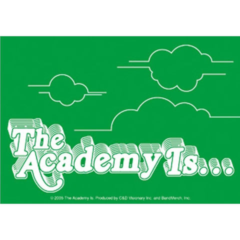 Academy Is Clouds Sticker