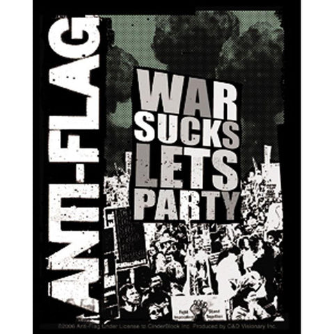 Anti-Flag War Sucks Sticker