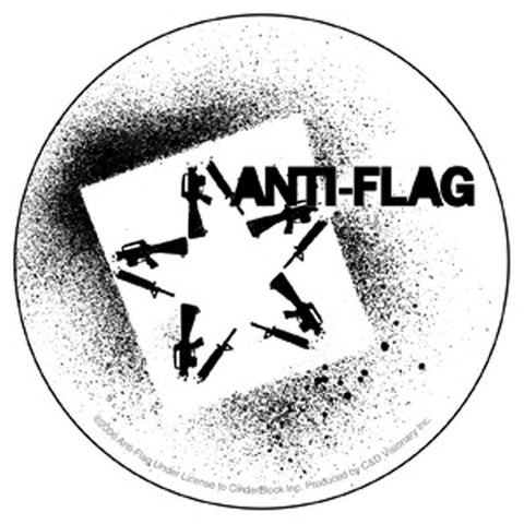 Anti-Flag Star Sticker