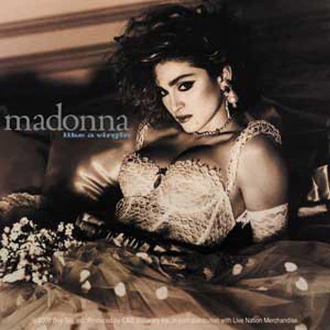 Madonna Like A Virgin Sticker