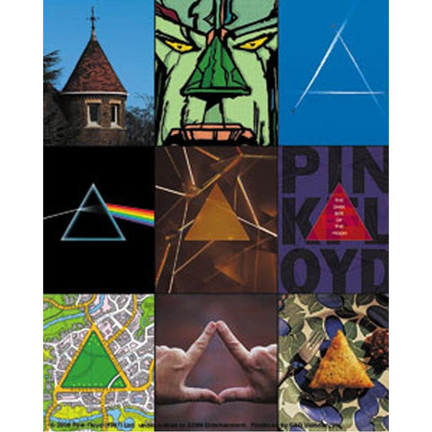 Pink Floyd Triangles Sticker
