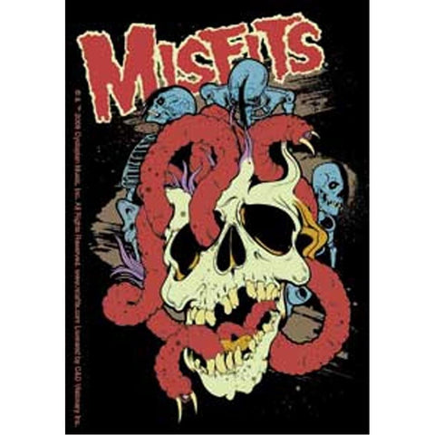 The Misfits Worms Sticker