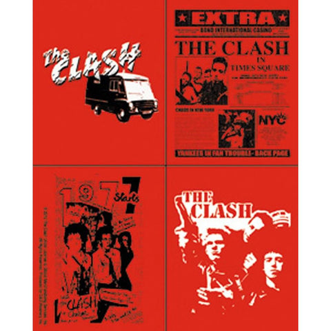 The Clash Assorted Sticker Set