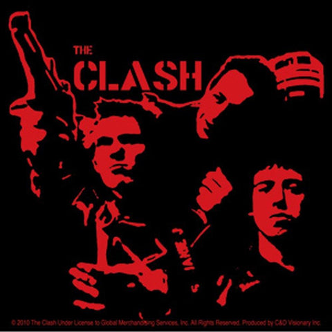 The Clash Gun Sticker