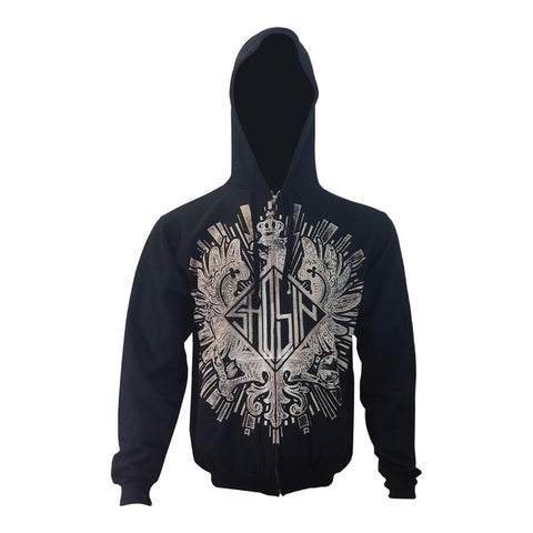 Saosin Eagle Men's Zip Hoodie